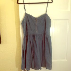 Denim Mini Dress!! NWT